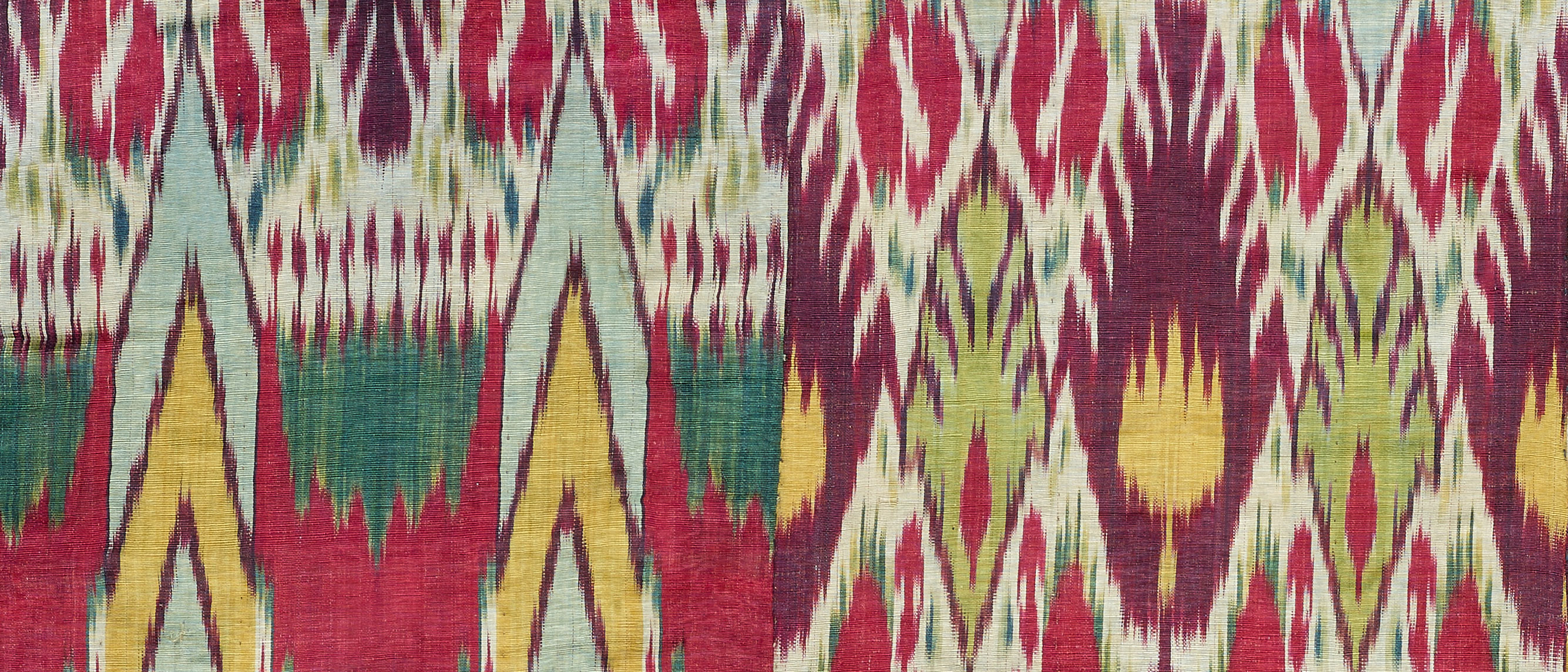 detail from an Ikat